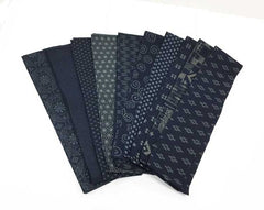 "*Japanese Traditional Indigo Strips - 20 - 2 1/2"" Strips- Japanese Indigos"