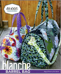 Bag Pattern - Swoon Blanche Barrel Bag