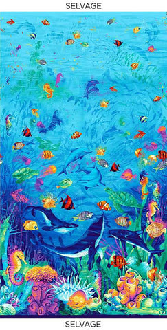 *Tropical -  Magical Ocean - C8028 - PANEL