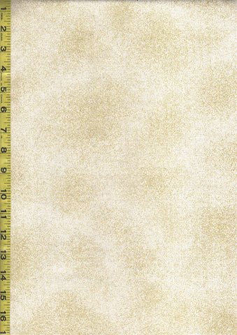 Metallic Fabric - Shimmer Ivory & Gold Metallic