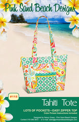 Bag Pattern - Pink Sand Beach Designs - Tahiti Tote