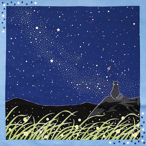 Furoshiki  - Tama Cat & Milky Way
