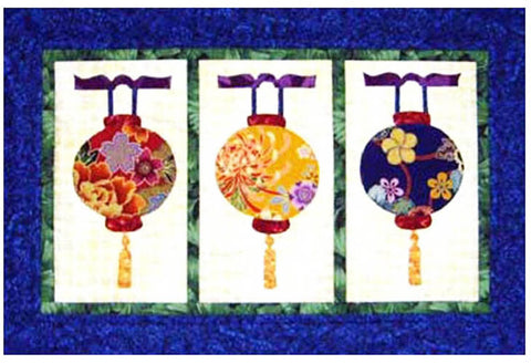 Quilt Pattern - Castilleja Cotton - Tasseled Lanterns