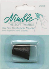 Notions - Nimble Thimble - Soft Leather Thimble