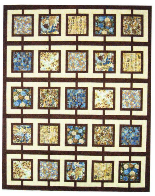 Quilt Pattern - Mountainpeek Creations - Town Square