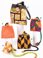Bag Pattern - Square Rose Designs - Triangle Bag