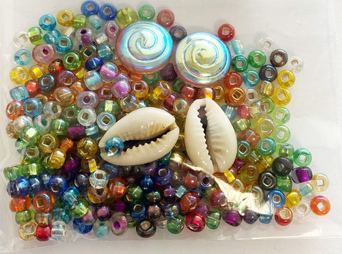 Embellishments -  Under the Sea - Tropical Beads & Shells