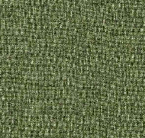 Japanese Fabric - Cotton Tsumugi - # 243 Olive Green