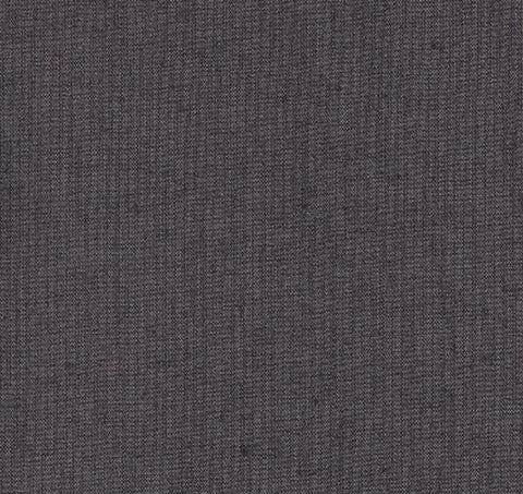 Japanese Fabric - Cotton Tsumugi - # 242 Dark Plum