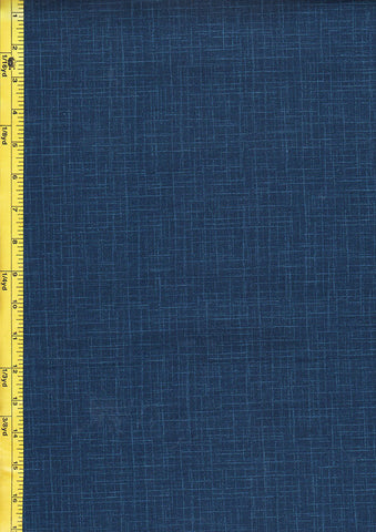 Japanese - Wagara Solid Color with Textured Lines - Blue - HF7-2 Last 2 Yards