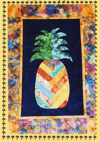 Quilt Pattern - Sew Wonderful Dreams - Welcome Pineapple - LAST ONE - ON SALE