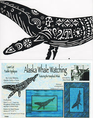 Quilt Pattern & Laser Cut Applique - Alaska Whale Watching # 15601