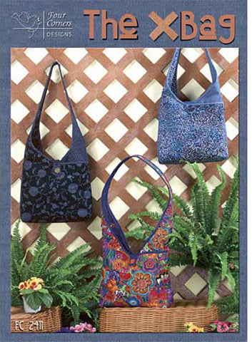 Bag Pattern - Four Corners Designs - The X Bag