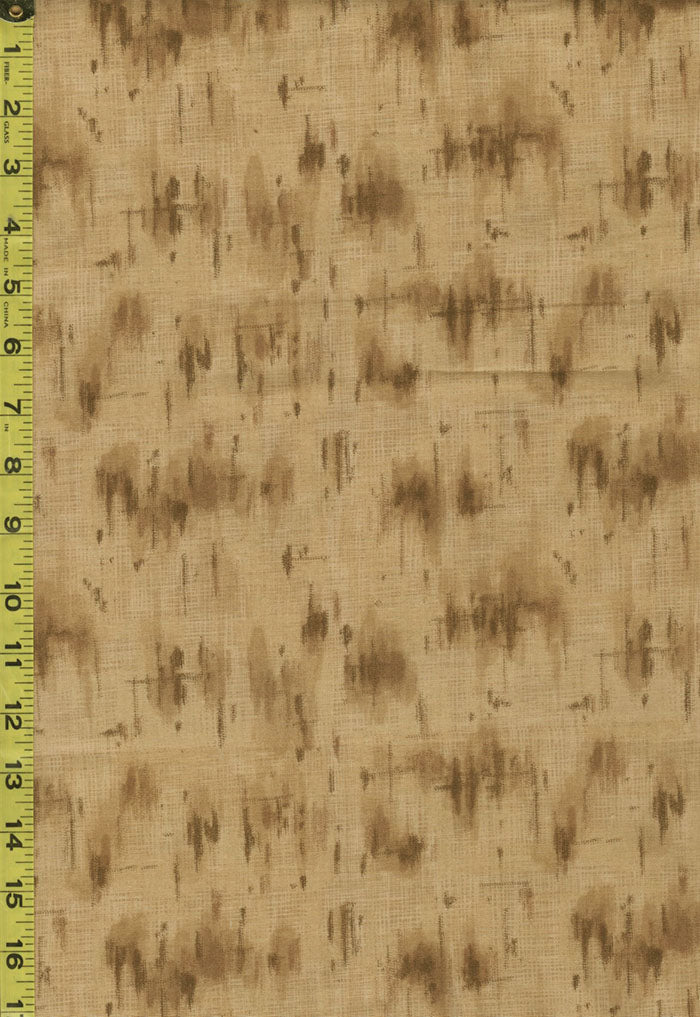 Japanese - Yoko Saito Centenary 25 - Abstract Brush Strokes - 701902-80 - Brown - ON SALE - Last 2 1/2 Yards
