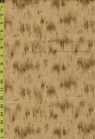 Japanese - Yoko Saito Centenary 25 - Abstract Brush Strokes - 701902-80 - Brown