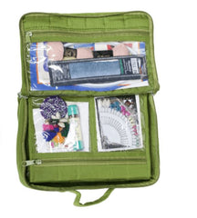 Yazzii Bag - Mini Organizer - LARGE - 8 Zippered Compartments