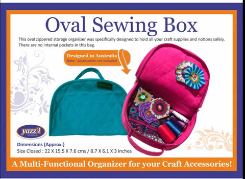 Yazzii Bag - Oval Sewing Box