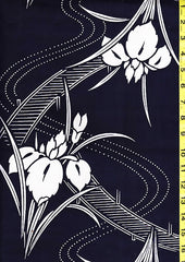 Yukata Fabric - 049 - Iris Bridges