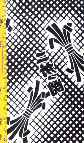 Yukata Fabric - 051 - Noshi Lattice
