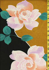Yukata Fabric - 086 - Large Roses