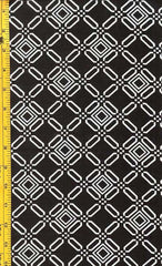 Yukata Fabric - 093 - Squares in Diamonds