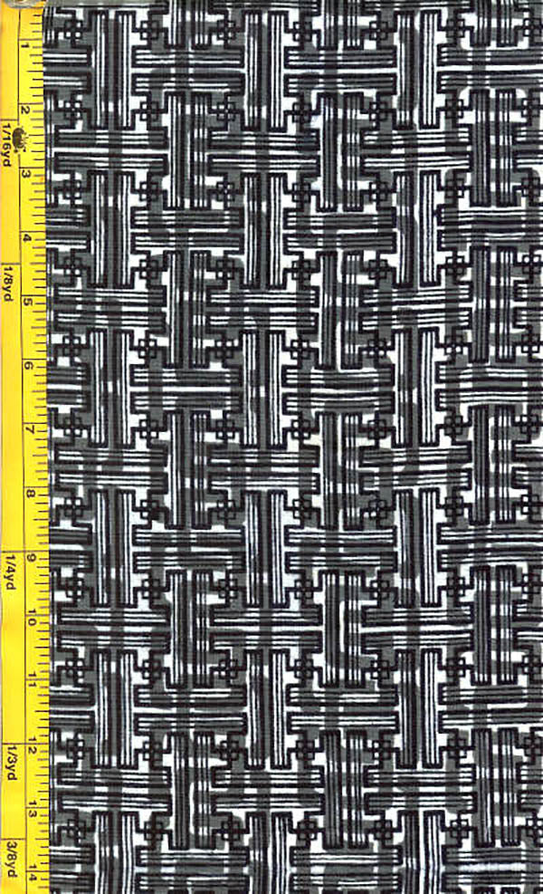 Yukata Fabric - 094 - Interlocking Mesh
