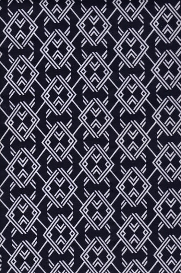 Yukata Fabric - 009 - Chainlink Diamonds