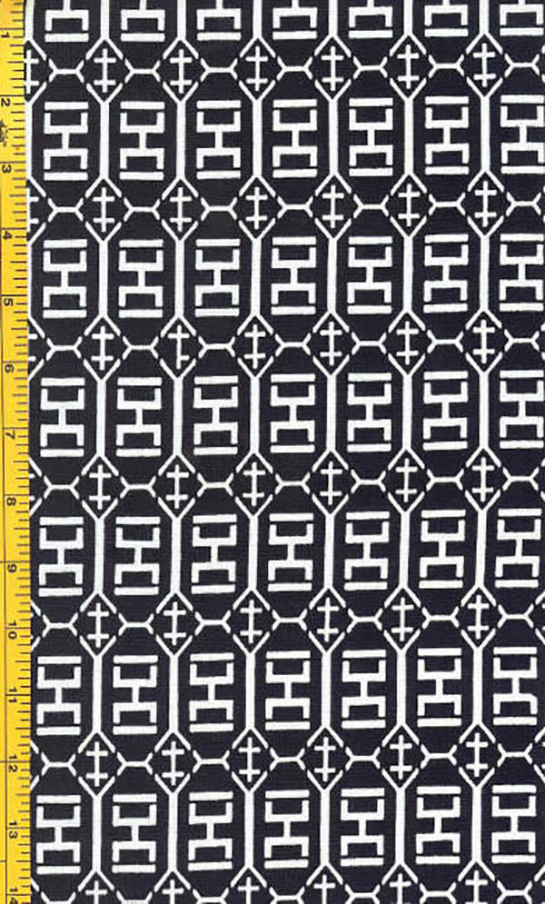 Yukata Fabric - 029 - Square Weights