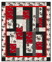 Quilt Pattern - Little Louise Designs - Zanzibar