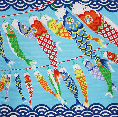 Furoshiki  - Koinobori (Japanese Flying Carp)