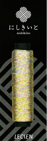 Cosmos Nishikiito Metallic Embroidery Floss - 02