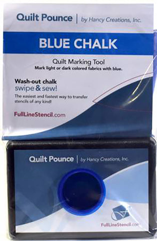 Notions - Quilt Pounce Marking Pad - BLUE
