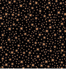 Metallic - Metallic Copper Stars - Black