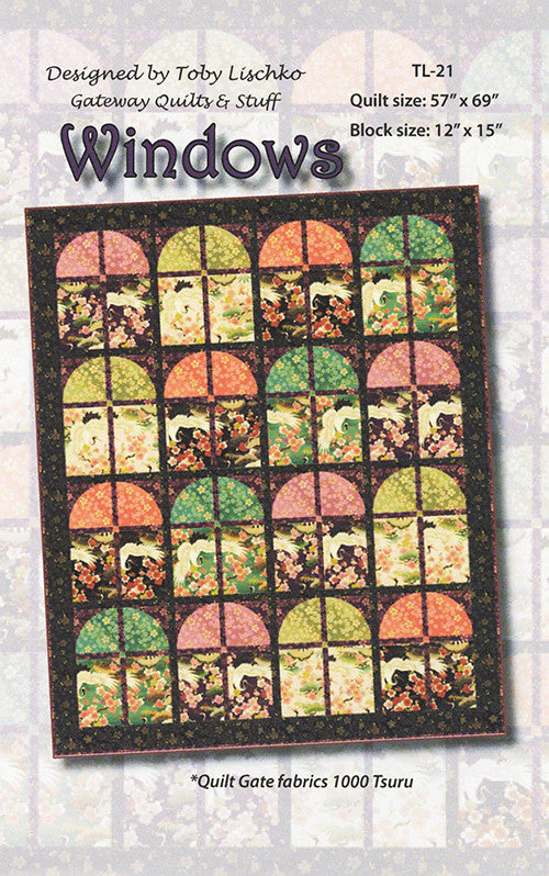 Quilt Pattern - Toby Lischko - Windows