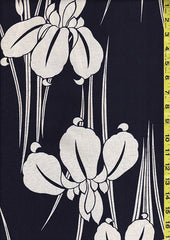 Yukata Fabric - 034 - Large Iris