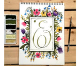 Ampersand with Flowers