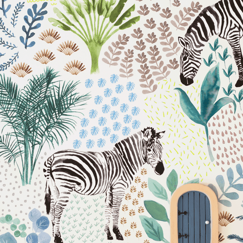 The Savannah Wallpaper Collection