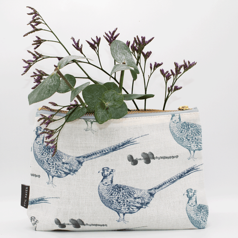 pheasant makeup bag