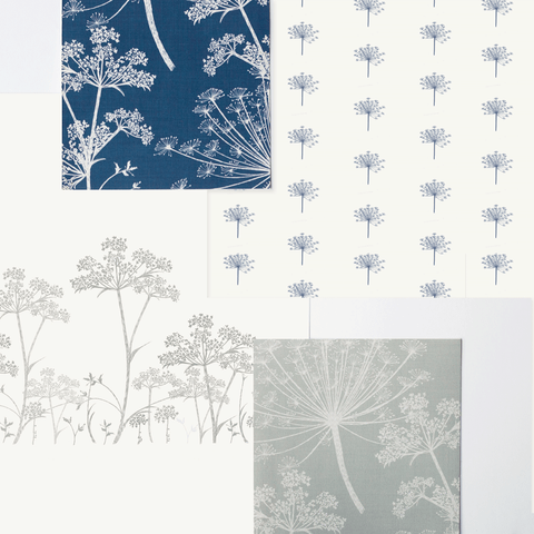 Stil Haven cow parsley wallpaper collection