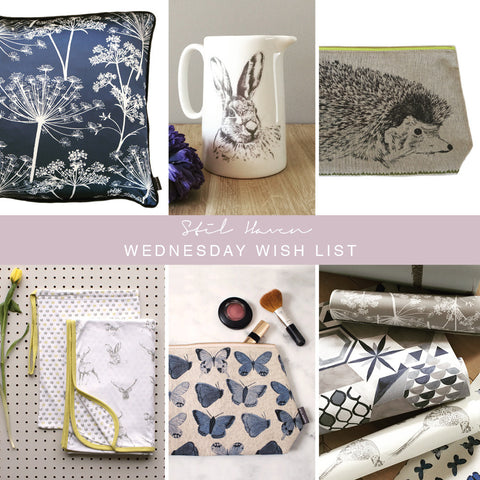 stil haven home decor inspiration wednesday wish list