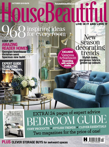 house beautiful october 2015 stil haven feather cushion