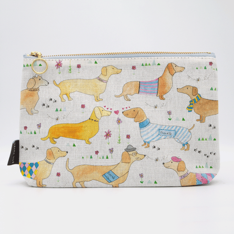 Sausage Dog Cosmetic Bag Waterproof Makeup Bag