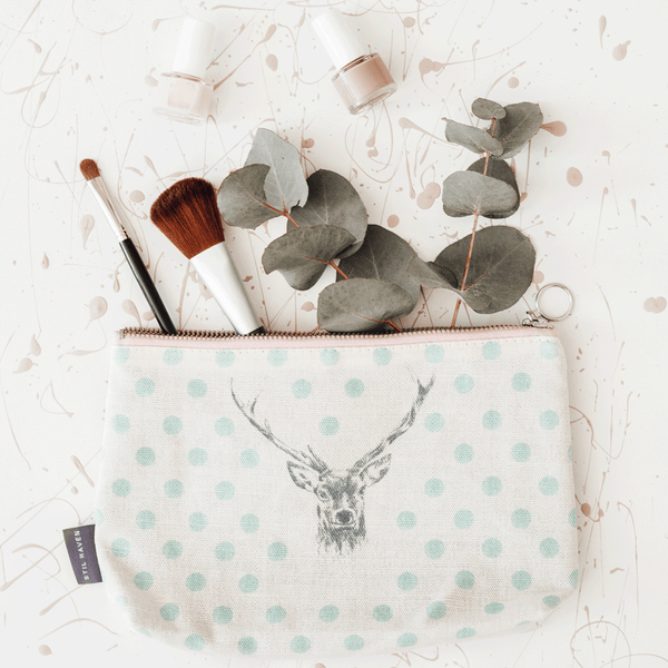 Stil Haven Stag Cosmetic Bag