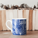 Stil Haven blue cow parsley fine bone china mug.png