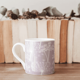 Stil Haven dusky lilac cow parsley fine bone china mug.png