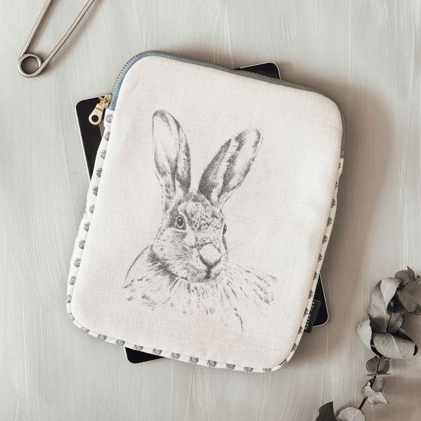 Stil Haven hare rabbit ipad case tablet cover.png