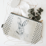 Stil Haven hare washbag waterproof toiletry bag rabbit print