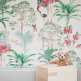 Stil Haven nova flamingo tropical wallpaper for kids room