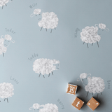 Stil Haven personalised blue sheep nursery wallpaper.png