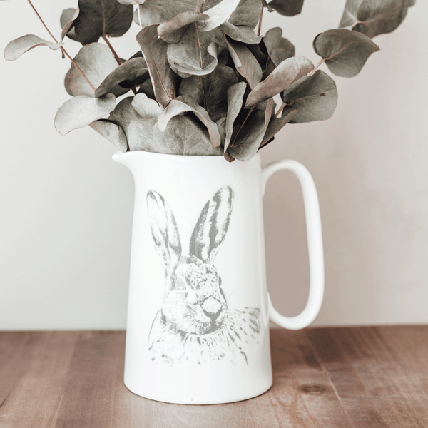 Stil Haven pint hare fine bone china milk jug.png